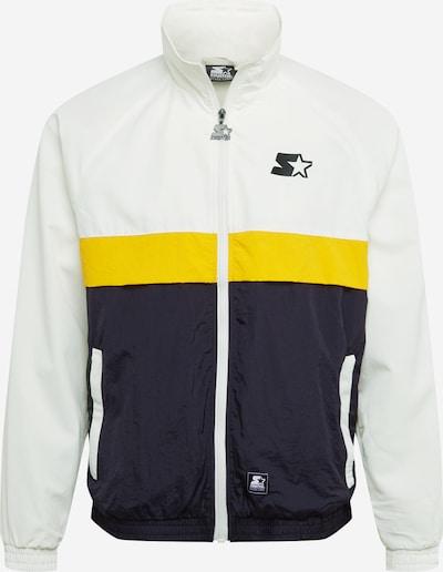Starter Black Label Tussenjas in de kleur Geel / Zwart gemêleerd / Offwhite, Productweergave