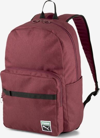 PUMA Sportrugzak 'Originals Futro' in de kleur Rood / Zwart, Productweergave