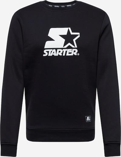 Bluză de molton Starter Black Label pe negru / alb, Vizualizare produs