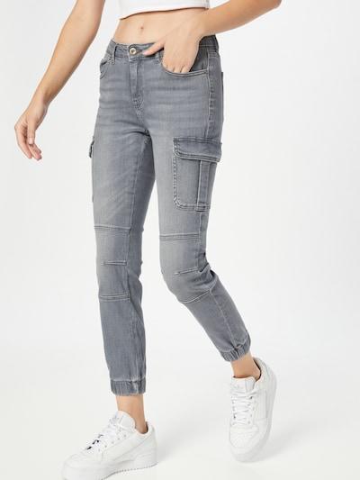ONLY Jeans 'MISSOURI' in grey denim, Modelansicht