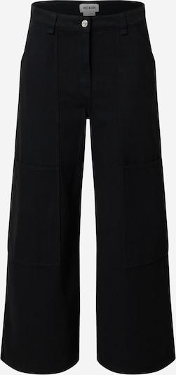 WEEKDAY Kalhoty 'Gritty' - černá, Produkt