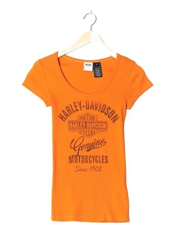 Harley Davidson Top & Shirt in XS-S in Orange