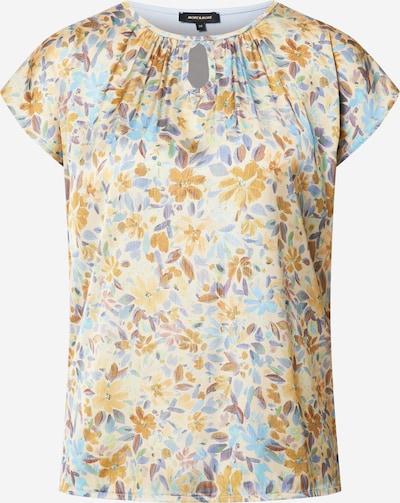 MORE & MORE Shirt in de kleur Beige / Lichtblauw / Honing / Lichtlila / Wit, Productweergave