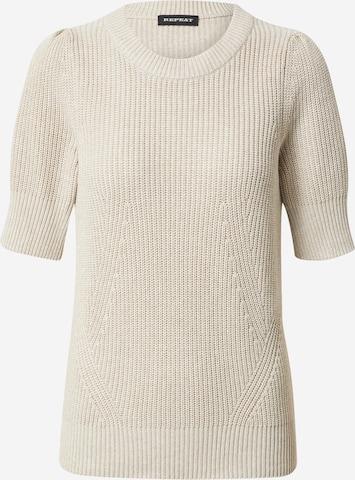 REPEAT Sweater in Beige