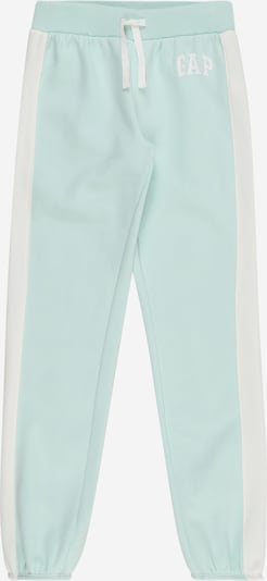 GAP Bukser i mint / hvid: Frontvisning