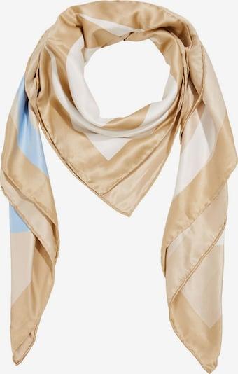 ESPRIT Écharpe en beige / mélange de couleurs, Vue avec produit