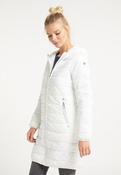 DreiMaster Maritim Wintermantel in weiß, Modelansicht