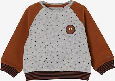 s.Oliver Sweatshirt in braun / graumeliert, Produktansicht