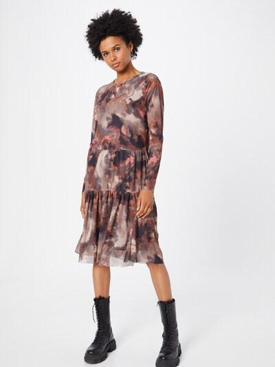 Rochie 'Hanna' SAINT TROPEZ pe maro / maro ruginiu / maro deschis / negru, Vizualizare model
