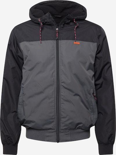 Iriedaily Between-Season Jacket in Dark grey / Black, Item view