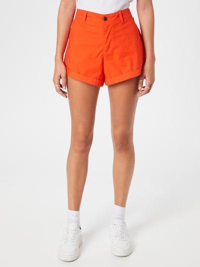 Superdry Pants 'STUDIOS' in Orange red, View model