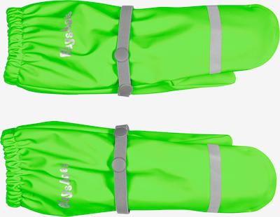 PLAYSHOES Gants en vert fluo, Vue avec produit