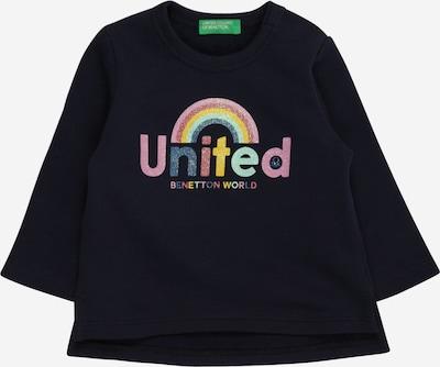UNITED COLORS OF BENETTON T-Shirt en bleu nuit / opal / jaune / rose / rosé, Vue avec produit