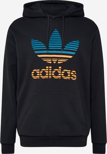 ADIDAS ORIGINALS Sweatshirt i blå / orange / svart, Produktvy
