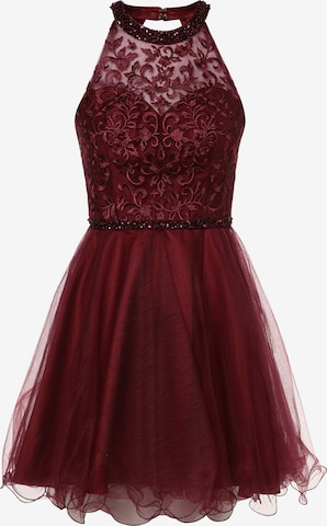 Laona Cocktail Dress in Red