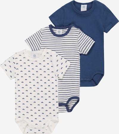 SANETTA Pajac/bodi | modra / bela barva, Prikaz izdelka
