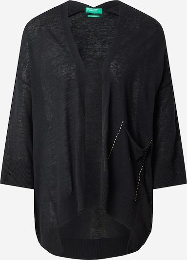 UNITED COLORS OF BENETTON Cardigan en noir, Vue avec produit