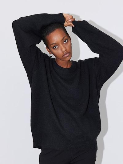 LeGer by Lena Gercke Pull-over 'Ilse' en noir, Vue avec modèle