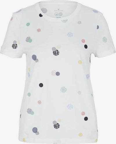 TOM TAILOR Majica u miks boja / bijela, Pregled proizvoda