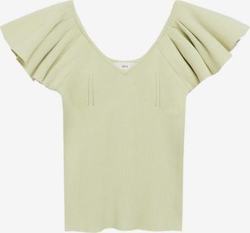 MANGO Shirt 'Lola' in Green