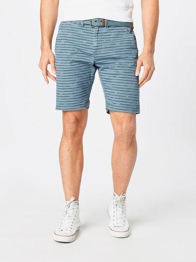 INDICODE JEANS Kalhoty 'Arroyo' - kouřově modrá / tmavě šedá, Model/ka