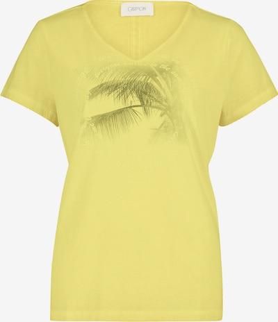 Tricou Cartoon pe galben citron / verde pin, Vizualizare produs