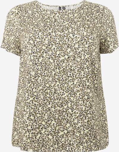 Vero Moda Curve Tričko 'Baca' - béžová / khaki / černá, Produkt