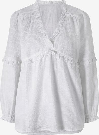 heine Bluse 'Linea Tensini' in weiß, Produktansicht