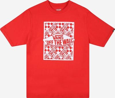 Tricou VANS pe roșu intens / alb, Vizualizare produs