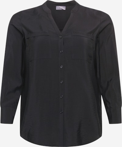 SAMOON Blouse 'Las Vegas' in de kleur Zwart, Productweergave