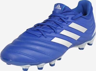 ADIDAS PERFORMANCE Chaussure de foot en bleu / argent, Vue avec produit