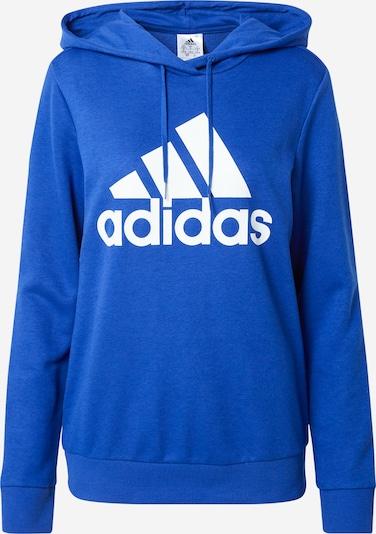 ADIDAS PERFORMANCE Sportiska tipa džemperis, krāsa - karaliski zils / balts, Preces skats
