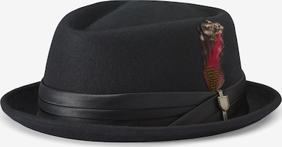 Brixton Hut in feuerrot / schwarz, Produktansicht