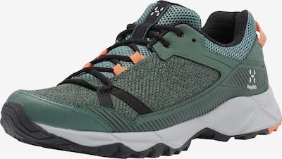 Haglöfs Lage schoen 'Trail Fuse' in de kleur Donkergroen / Neonoranje / Zwart, Productweergave