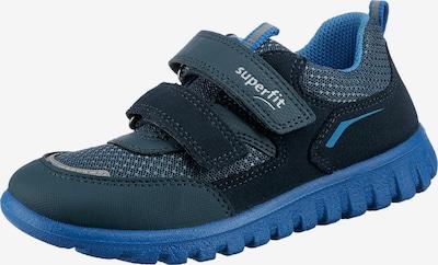 SUPERFIT Sneaker in nachtblau / hellblau / grau, Produktansicht