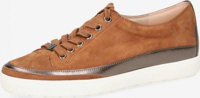 CAPRICE Sneakers in Brown / Silver, Item view