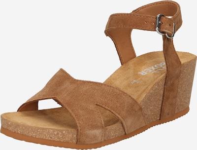 BULLBOXER Sandale in chamois, Produktansicht