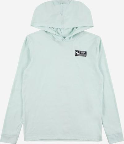 Abercrombie & Fitch Sweatshirt in pastellblau / schwarz, Produktansicht