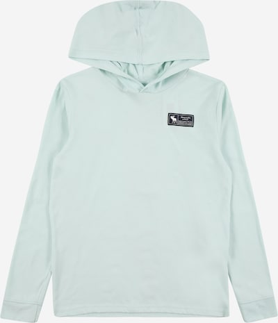 Abercrombie & Fitch Sweatshirt in pastel blue / black, Item view