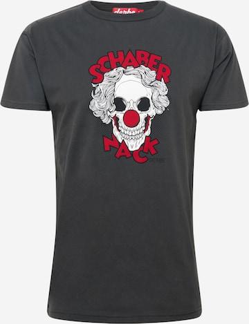 Derbe T-Shirt in Grau