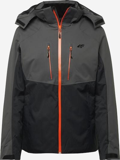 4F Outdoorová bunda - šedá / černá, Produkt