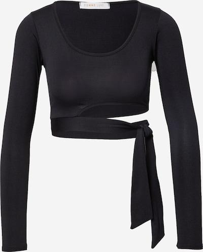 Femme Luxe Shirt 'KIANA' in schwarz, Produktansicht