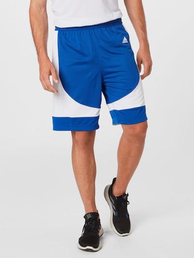 ADIDAS PERFORMANCE Športové nohavice 'N3XT L3V3L' - modrá / biela, Model/-ka