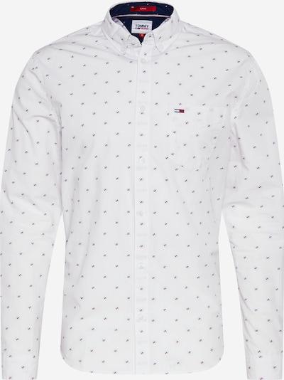 Tommy Jeans Hemd in nachtblau / rot / weiß, Produktansicht