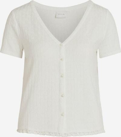 VILA Πλεκτή ζακέτα 'SIMA' σε λευκό, Άποψη προϊόντος