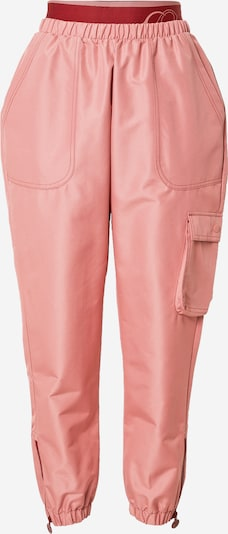 Pantaloni cu buzunare 'CARDI' Reebok Classics pe roz pal / roşu închis, Vizualizare produs
