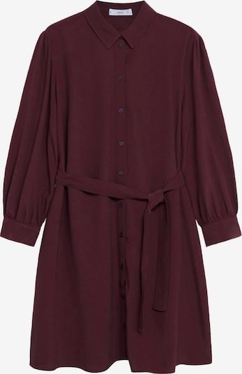 MANGO Kleid 'Leandra' in weinrot, Produktansicht