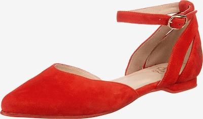 Apple of Eden Riemchenballerina 'Beny' in rot, Produktansicht