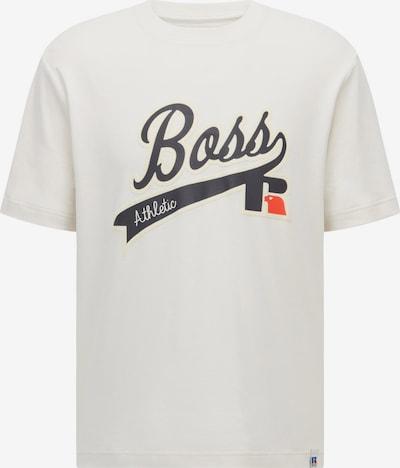 BOSS Shirt in marine blue / Orange red / White, Item view