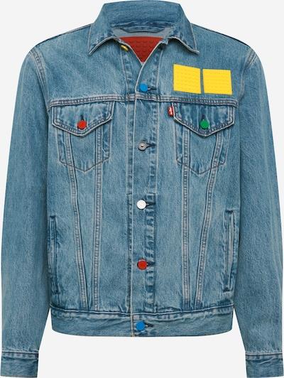 LEVI'S Přechodná bunda - modrá džínovina / žlutá, Produkt